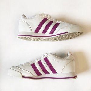 adidas Shoes - Adidas Originals Ortholite Purple Stripe Sneakers